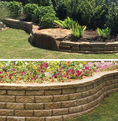 Flower Beds and Retaining Walls